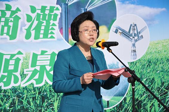 酒泉市委常委,宣传部部长杨小丽主持仪式